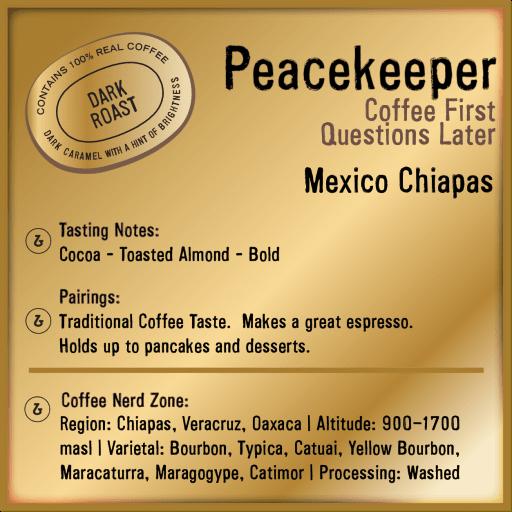 Peacekeeper Mexico