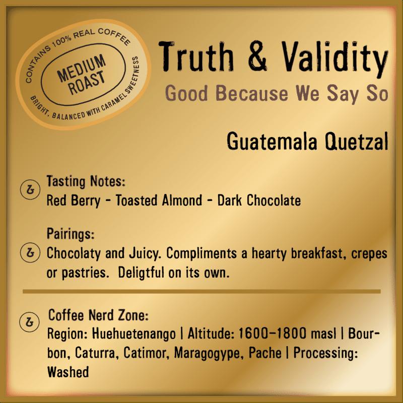 Truth and Validity Guatemala