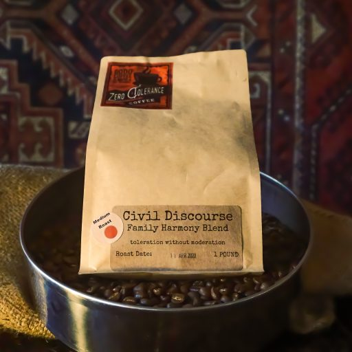 Civil Dicourse Medium Roast Colombian Blended Whole Bean Coffee