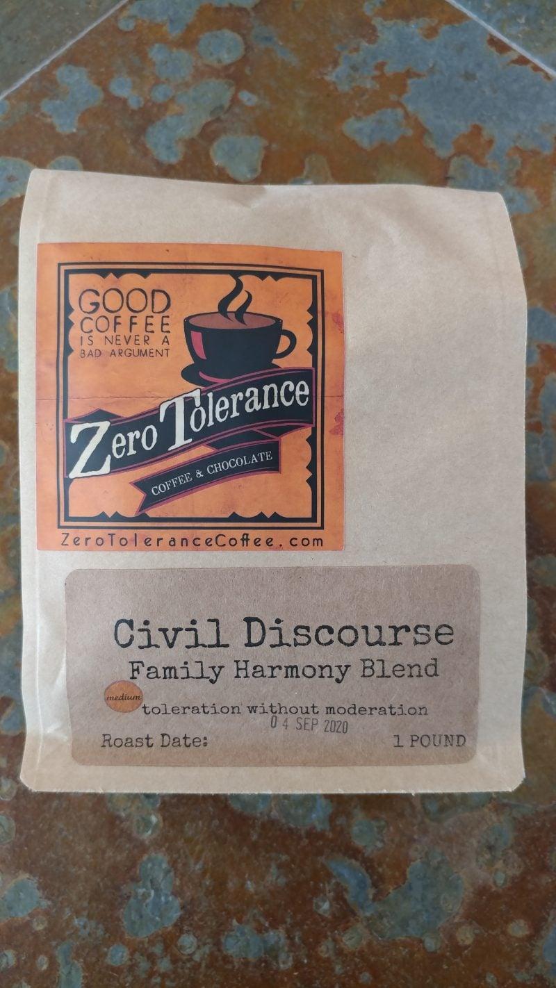 Civil Dicourse Medium Roasted Craft Coffee