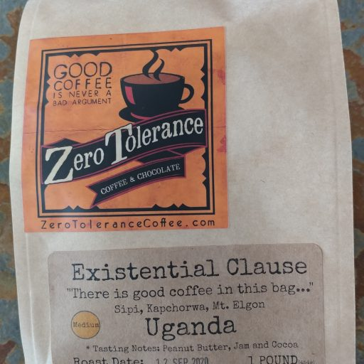 Existential Clause Ugandan Medium Roasted Craft Coffee