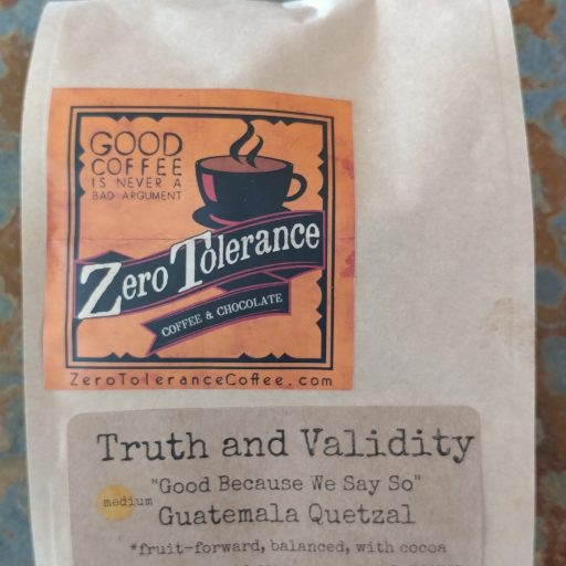 Truth And Validity Medium Roasted Craft Coffee