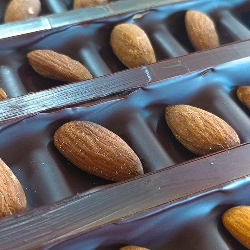 Chocolate Bars With Fruits & Nuts