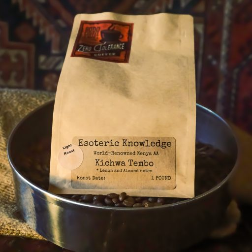 Esoteric Knowledge Light Roast Kenyan Single Origin Whole Bean Coffee