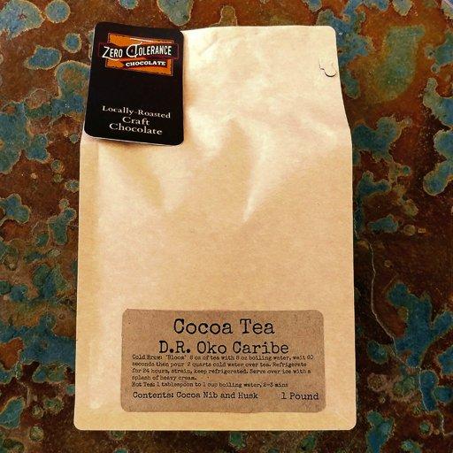 Single Origin Dominican Republic Oko Caribe Chocolate Cacao Or Cocoa Tea Husks