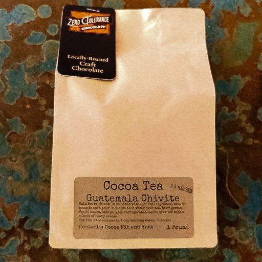 Single Origin Guatemalan Chivite Chocolate Cacao Or Cocao Tea Husks