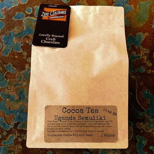 Single Origin Ugandan Semuliki Forest Chocolate Cacao Or Cocao Tea Husks