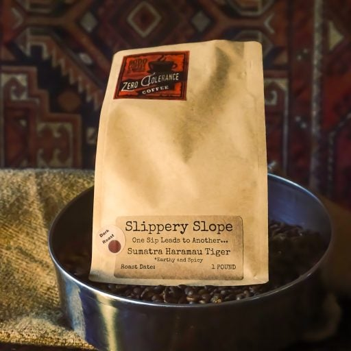 Slippery Slope Dark Roast Sumatran Single Origin Whole Bean Coffee