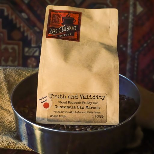 Truth And Validity Medium Roast Guatemalan Single Origin Whole Bean Coffee