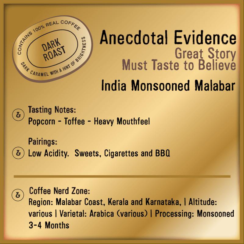 Anecdotal Evidence India