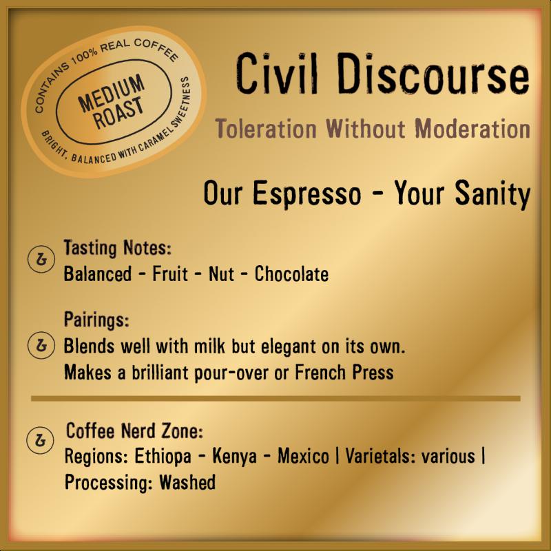 Civil Discourse Espresso